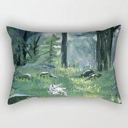 Unicorn Foal Rectangular Pillow
