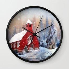 White Glory Wall Clock