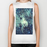galaxy Biker Tanks featuring gAlAxY by 2sweet4words Designs