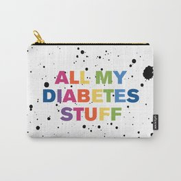 All My Diabetes Stuff™ (Multi Paint) Carry-All Pouch