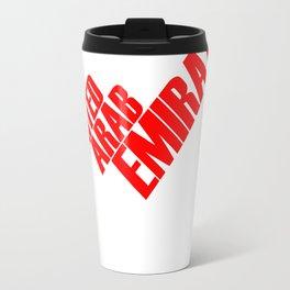 Map UAE Travel Mug