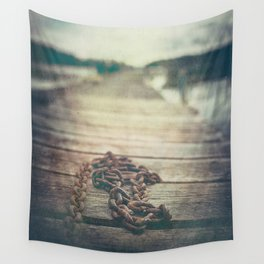 The chained boy Wall Tapestry