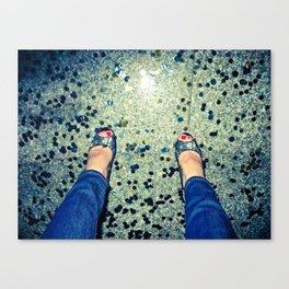 twinkle toes Canvas Print