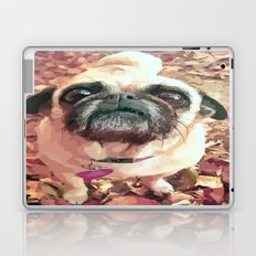 Pug Love ~ In Delilah's Eyes Laptop & iPad Skin