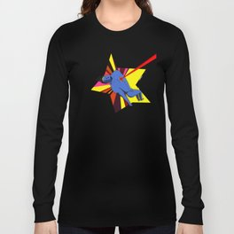 El superhéroe Long Sleeve T-shirt