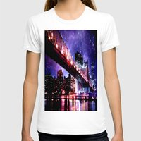new york T-shirts featuring New York New York by Whimsy Romance & Fun