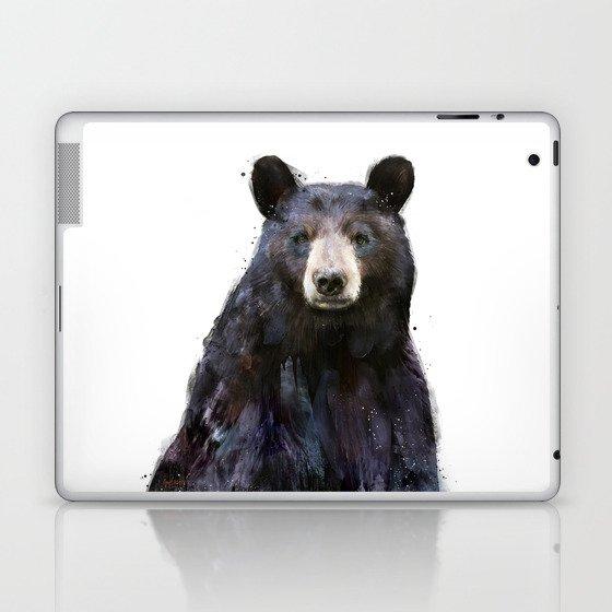 Black Bear Laptop & iPad Skin