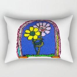 Flowers in Love Rectangular Pillow