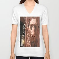 narnia V-neck T-shirts featuring Aslan  by Photaugraffiti