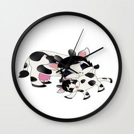 Happy Cows Wall Clock