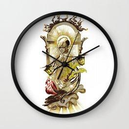 Sun Tarot Wall Clock
