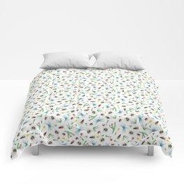 Insect Garden Comforters
