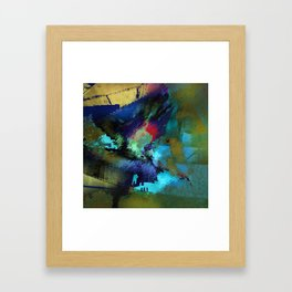 at that time Framed Art Print