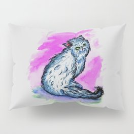 Persian cat sketch Pillow Sham
