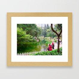 Park life 2 Framed Art Print