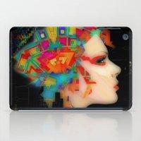 glitch iPad Cases featuring Glitch by Steve W Schwartz Art