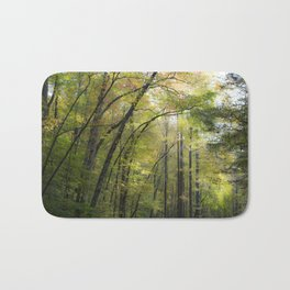 Trees in October Bath Mat