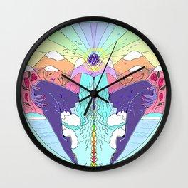 Mother Tarot: Queen of Pentacles Wall Clock