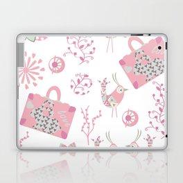 Travel pattern 2 Laptop & iPad Skin