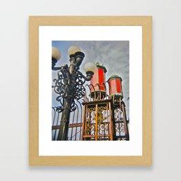Medusa Lounge Framed Art Print