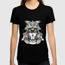 Girl With Death Head Moth T-shirt