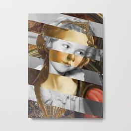 Sandro Botticelli's Fortitude & Shirley T. Metal Print