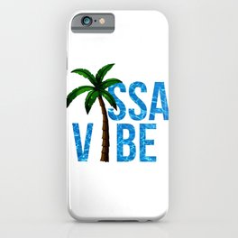 issa vibe iPhone Case
