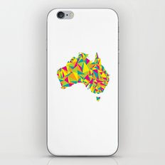 Abstract Australia Bright Earth iPhone & iPod Skin