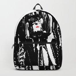 Freeda my Frida Black and White Backpack