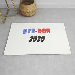 Bye-Don 2020 Text design  Rug