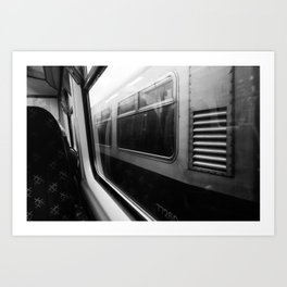 Surface Tension: Commute to City Centre Art Print