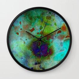 cool colors Wall Clock