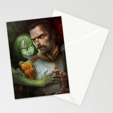 Condemned By Fire Stationery Cards