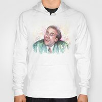 nicolas cage Hoodies featuring Nicolas Cage You Don't Say by Olechka