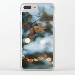 Fall Twilight Clear iPhone Case