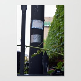 A Little Bit Of The Abandoned Canvas Print