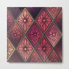 Purple Window Metal Print