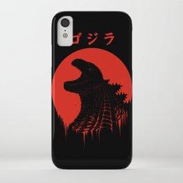 Kaiju Regeneration iPhone Case