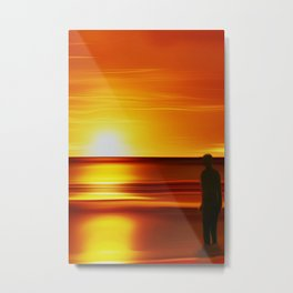 Gormley (Digital Art) Metal Print