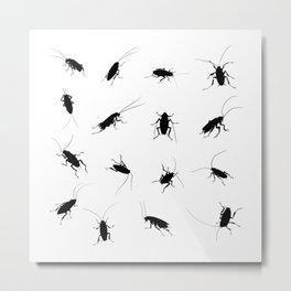 Roaches Metal Print