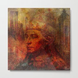 Pope Urbain  V  in New York Metal Print