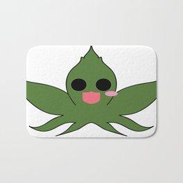 Cute Cannabis Masot : Indica 大麻 (Taima) Bath Mat