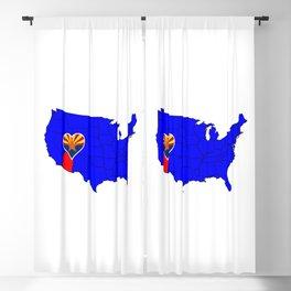 State of Arizona Blackout Curtain