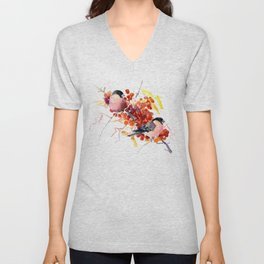 Bullfinch and the Fall Unisex V-Neck