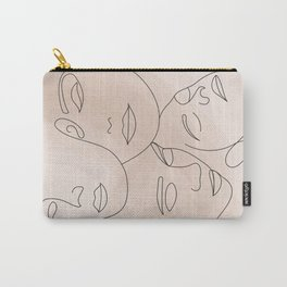 Women's Faces Carry-All Pouch