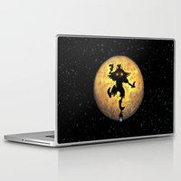 majora Laptop & iPad Skins featuring majora mask by neutrone