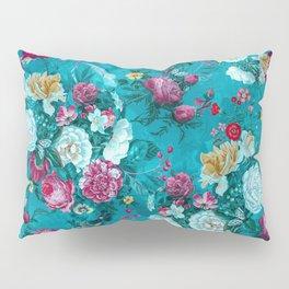 Blue summer garden Pillow Sham