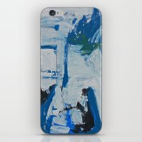 italian iPhone & iPod Skins featuring Italian Blue by laurenmccrory