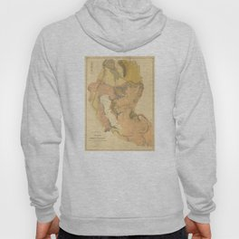 Vintage Montana & Wyoming Geological Map (1872) Hoody