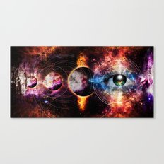 Quantum space Canvas Print